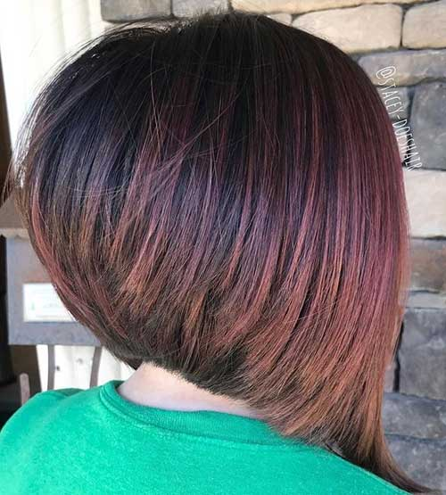 Inverted Bob Haircuts for Thick Hair