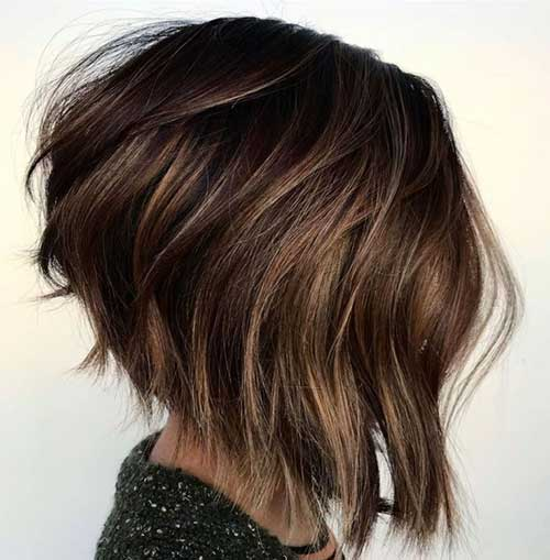 Layered Bob Haircuts for Thick Hair