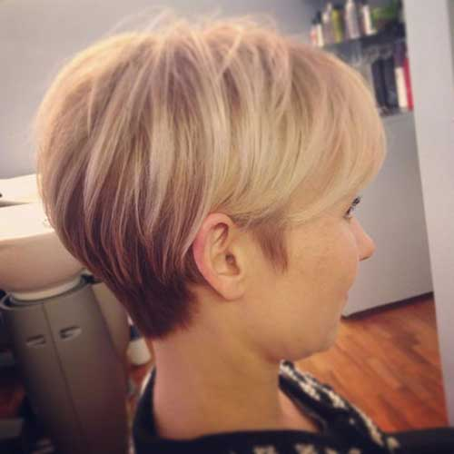 Cute Pixie Cuts with Highlights
