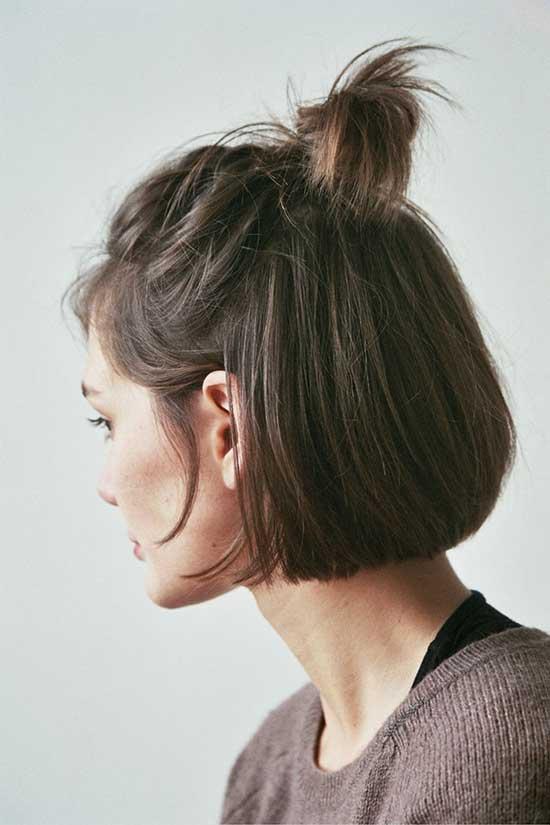 Short Bun Hairstyles