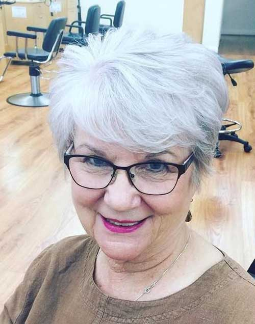 Very Short Haircuts for Older Ladies