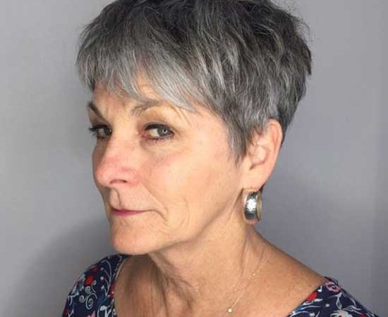 Very Short Hairstyles for Older Ladies with 25+ Pictures