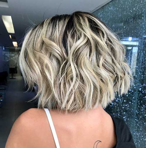 Wavy Bob Haircuts for Thick Hair
