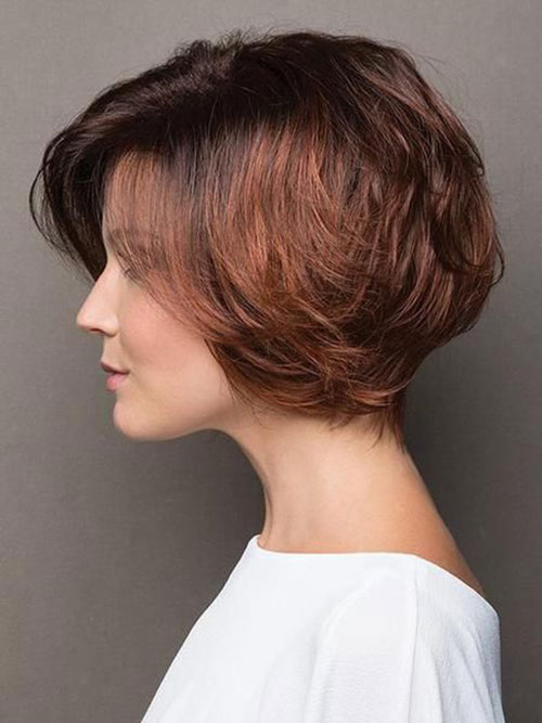 Short Haircuts for Thick Hair 2020-10