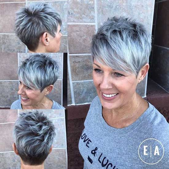 Classy Pixie Haircuts for Women Over 50-17