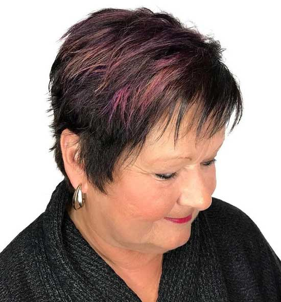 Pixie Haircuts with Sideburns for Women Over 50-18