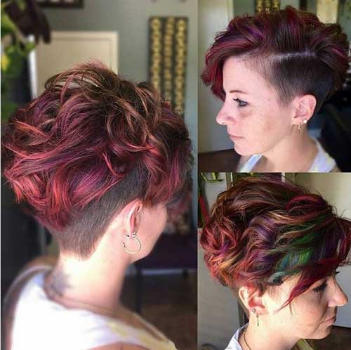 Short Asymmetrical Haircuts for Thick Hair-18