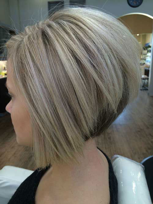 Short Cute Haircuts for Thick Hair-19