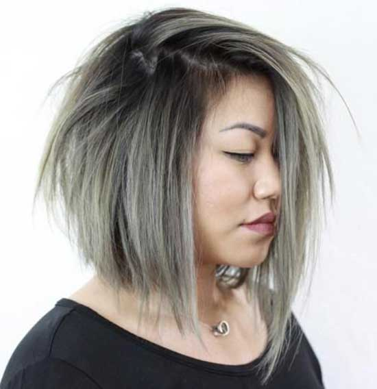 Short Hairstyles for Fat Girls-28