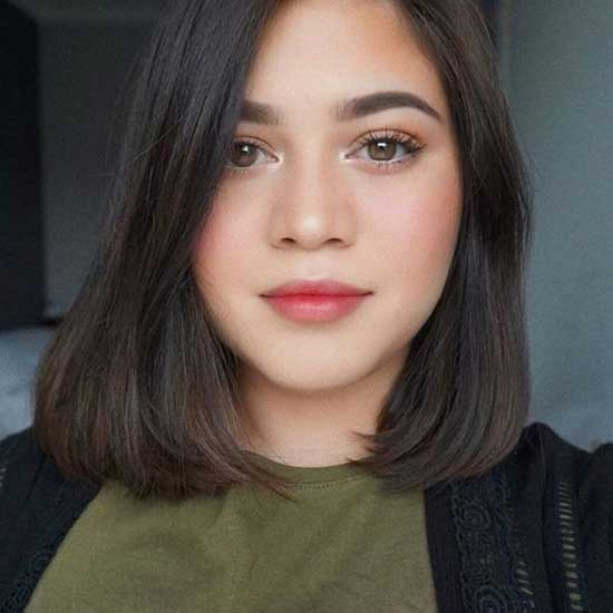 Short Hairstyles for Fat Girls-30