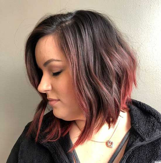 Short Wavy Hairstyles for Fat Girls-9