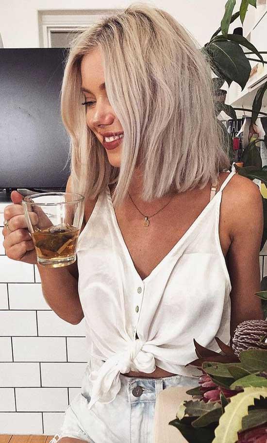 Blonde Bob Hairstyles for Thin Hair