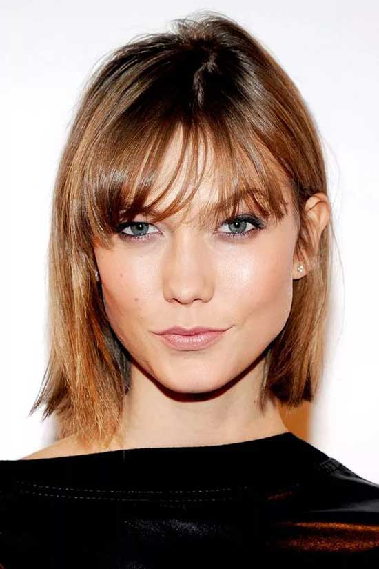 Bob Hairstyles with Bangs for Thin Hair