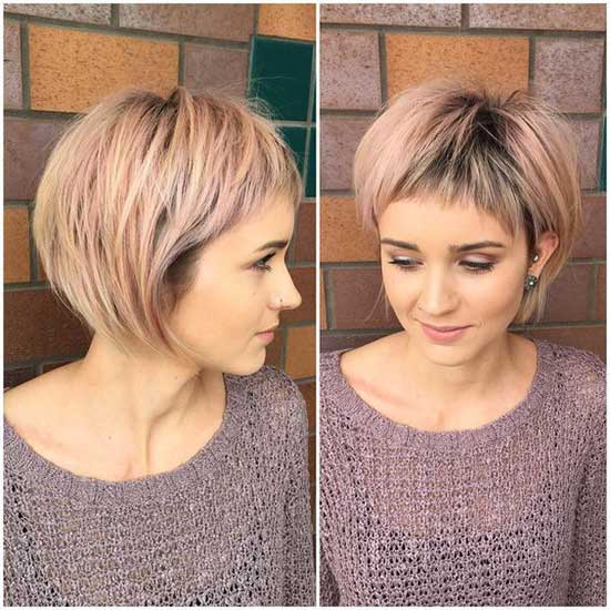 Bob Hairstyles with Fringe for Thin Hair