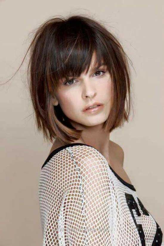 Line Bob Hairstyles for Thin Hair