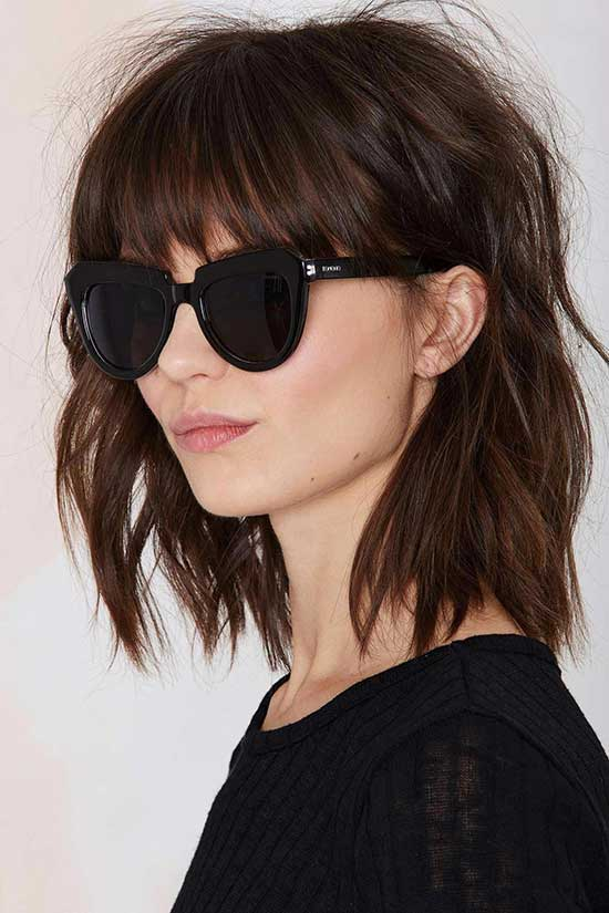 Long Bob Hairstyles for Thin Hair