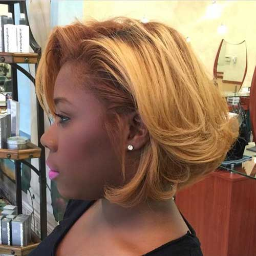 Natural Blonde Hairstyles for Short Hair African American