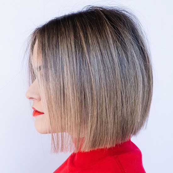 Stacked Bob Hairstyles for Thin Hair