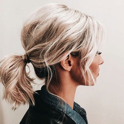 Short Updo Hairstyles for Wavy Hair-9
