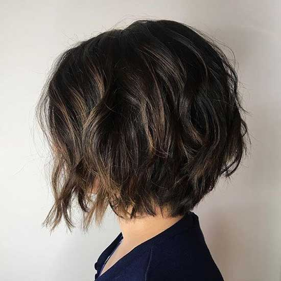 Cute Textured Bob Haircuts-14