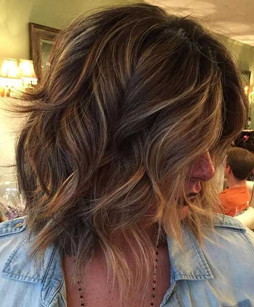 Cute Short Medium Thick Hairstyles-17