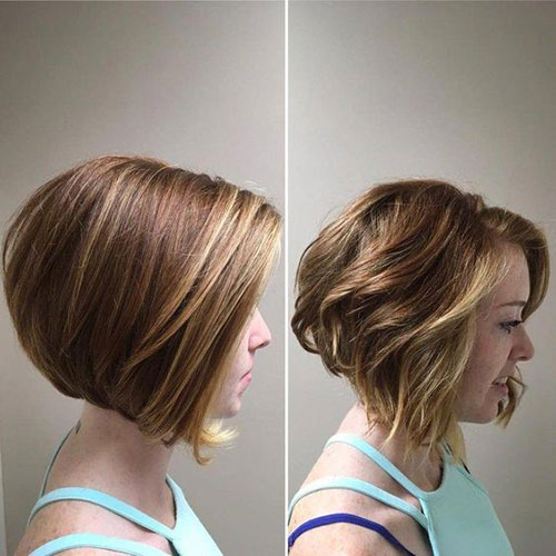 Trendy Cute Short Thick Hairstyles-18