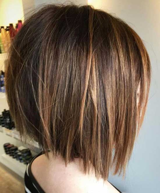 Cute Asymmetrical Bob Haircuts-23