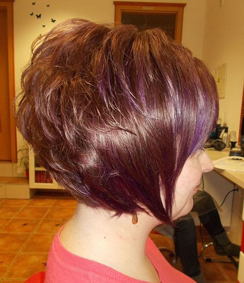 Cute Short Thick Bob Hairstyles-6