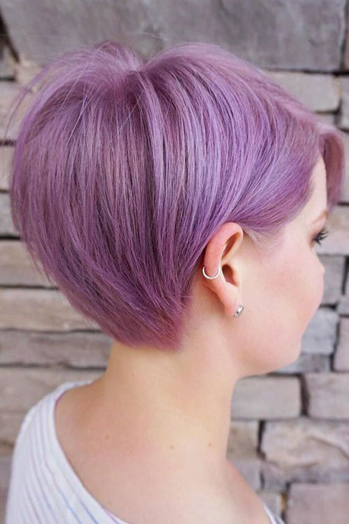 Stylish Colored Pixie Cuts-8