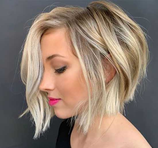 Cute Bob Haircuts for Thick Hair-8