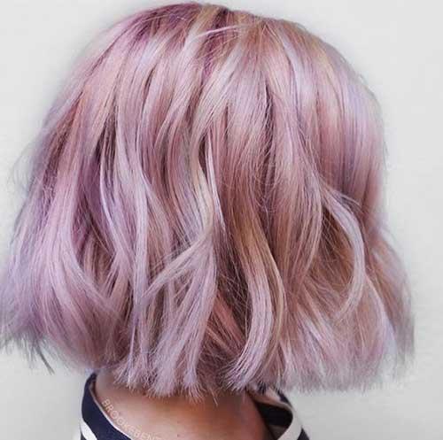 Modern Bob Pink Hairstyles