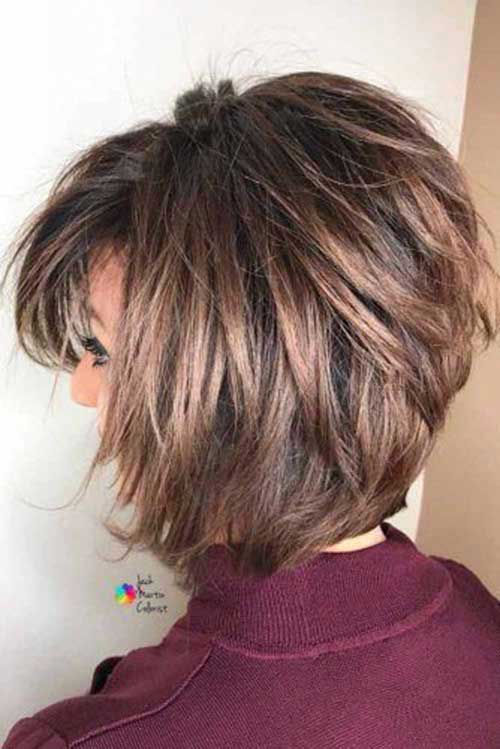 Modern Layered Bob Hairstyles