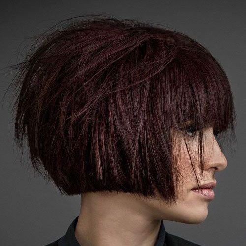 Modern Textured Bob Hairstyles