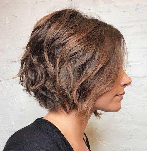 Modern Wavy Bob Hairstyles
