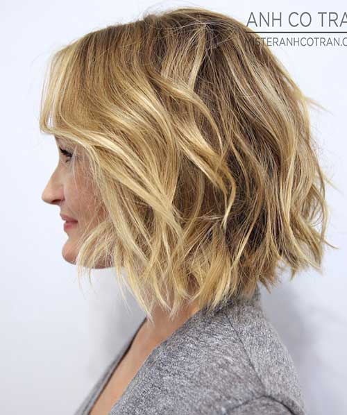 Shoulder Length Modern Bob Hairstyles